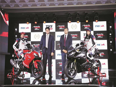 TVS Motor domestic sales down by 25% YoY in October, exports rise 20%