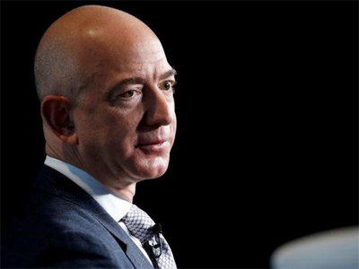 Amazon's Jeff Bezos adds $13 bn to his fortune in 15 mins; stock rises