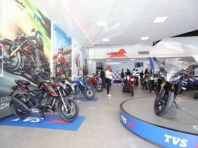 TVS Motor hits 4-yr low ahead of March auto sales nos; skids 40% in 2-mths