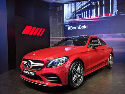 Mercedes drives in new AMG C43 Coupe