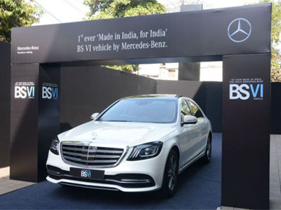 Mercedes-Benz to produce only BS VI compliant diesel models in India