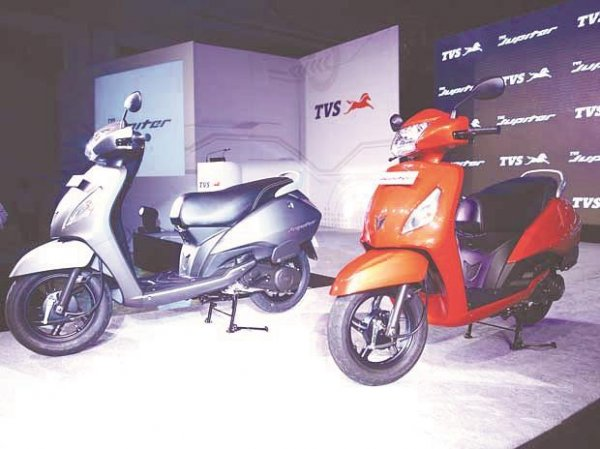 TVS Motor's two-wheeler sales up by 20% in December; exports up 28%