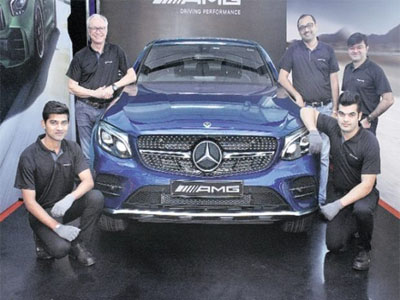 Mercedes does a first, inaugurates dedicated AMG Services Bay in Pune