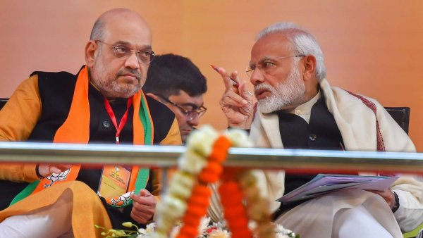 Modi-Shah to visit poll-bound Assam today, will launch mega programme to distribute land