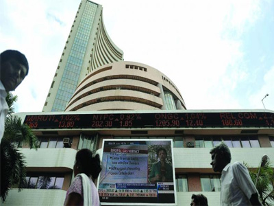 Sensex surges over 400 points; bank stocks rally