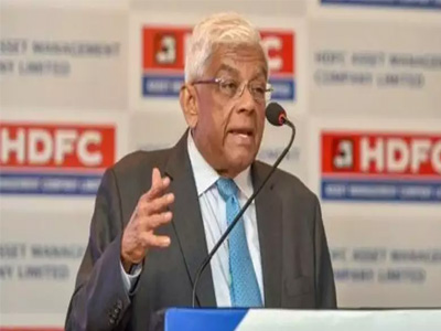 Banks have turned risk averse, says HDFC chairman Deepak Parekh